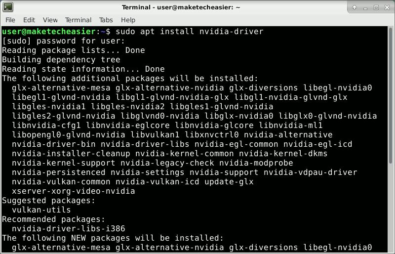 Debian Vs Ubuntu Install Nvidia Driver On Debian