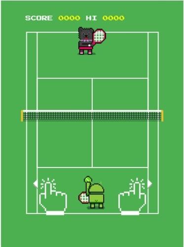 Google Ping Pong Tennis