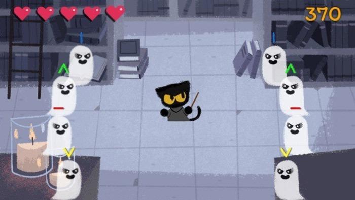 Hidden Google Games Magic Cat Academy