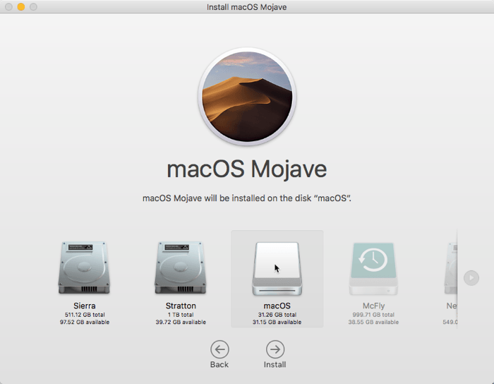 Install Macos Usb Drive Selection