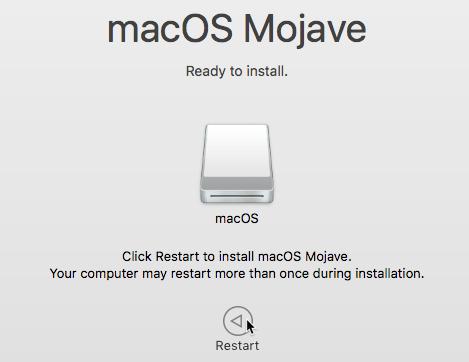 Install Macos Usb Restart