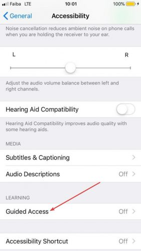 Lock Apps Iphone Settings Accessibility Guided Access