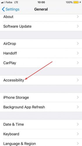 Lock Apps Iphone Settings General Accessibility