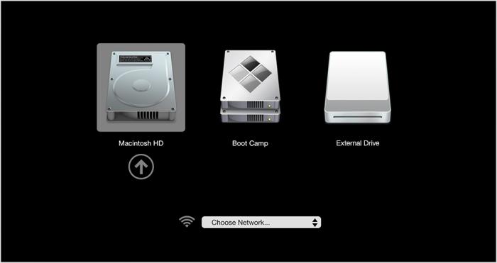 Macos Sierra Startup Disk