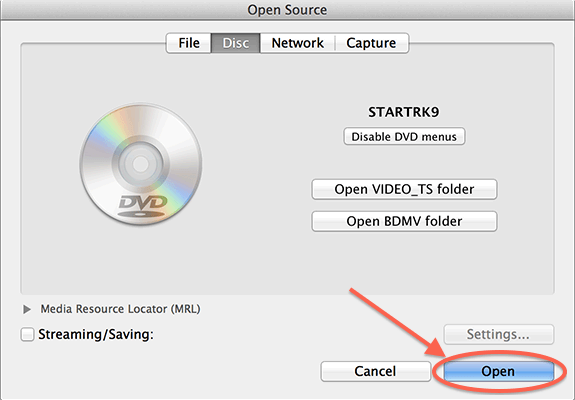 Play Blu Ray Macos Vlc Open Disc