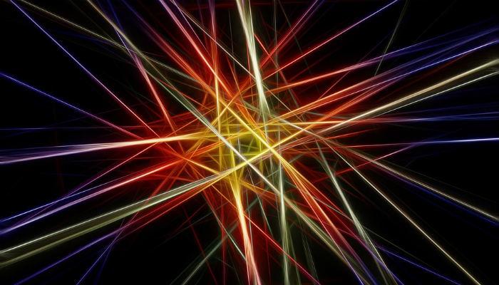 Projector Laserbeams