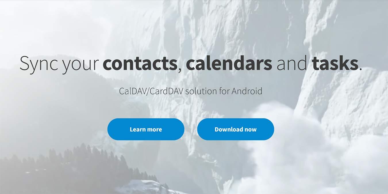 Sync Caldav Carddav On Android Davx5
