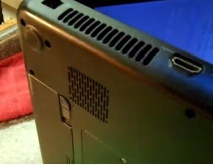 Acer Laptop Vents