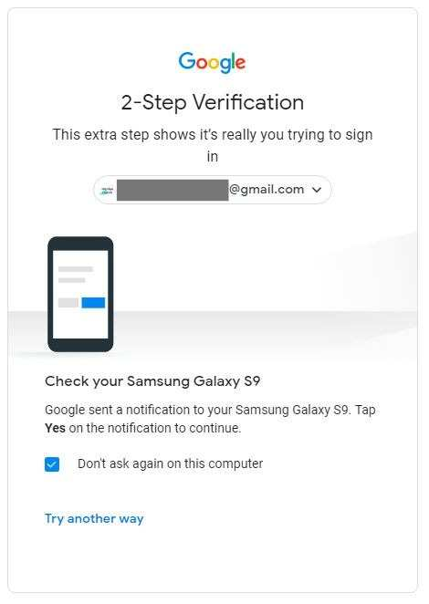 Android Security Key Check Your Phone