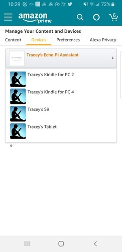 Android Web To Kindle Locate Kindle