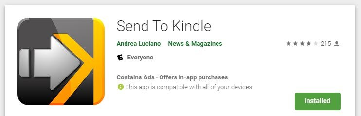 How to Send Web Articles to Your Kindle from Your Android