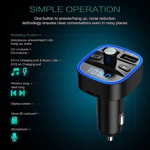 Deal Bluetooth Fm Transmitter Operation