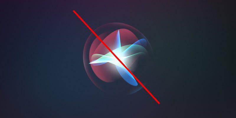 Disable Siri Cover