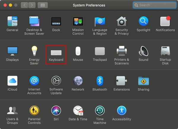 Disable Siri Keyboard