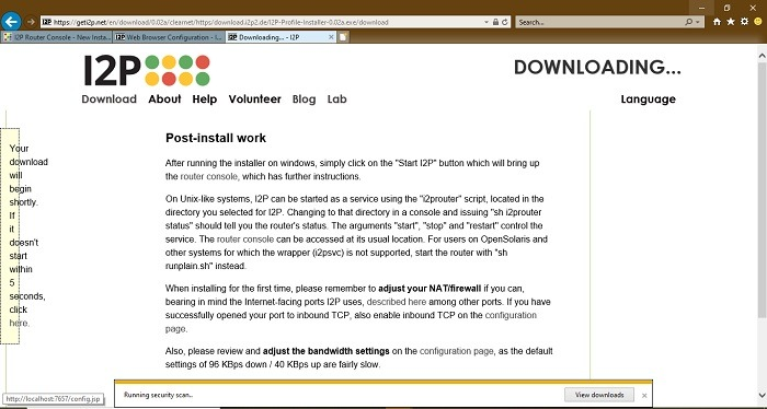 Downloading Firefox Profile For I2p