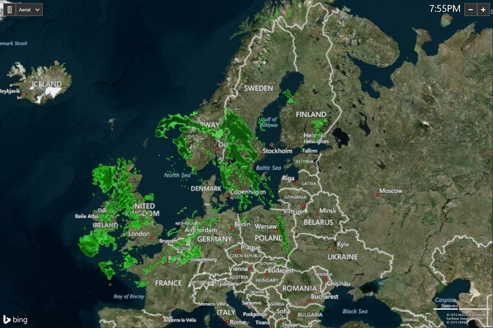Europe Weather Radar