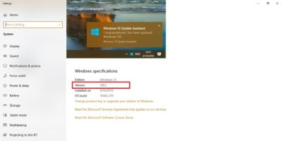Featured Image Windows 10 Upgrade To 1903