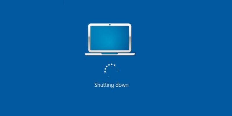 Featured Laptop Shutdown