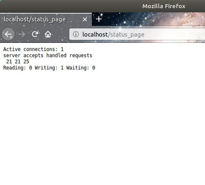 Nginx Browser Status
