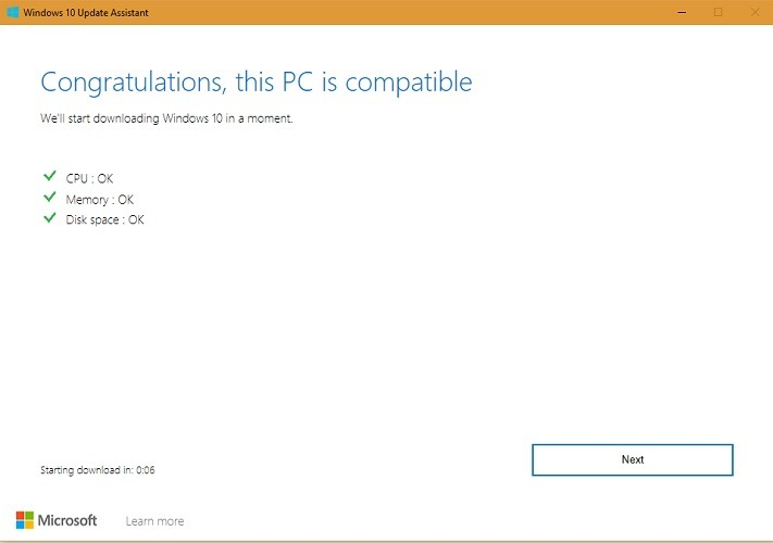 Update Message Windows 10 For 1903