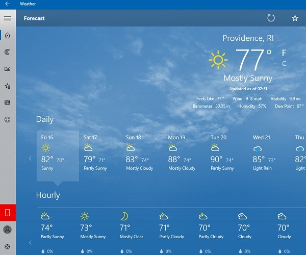 How to Check the Weather on Your Windows 10 Desktop - Make