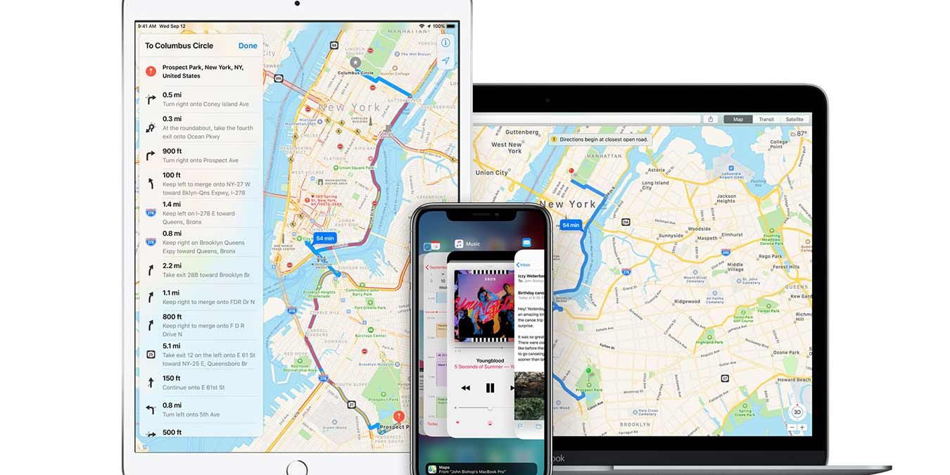 Apple Maps Vs Google Maps Apple Maps All Devices