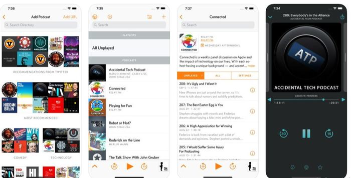 Best Podcast Apps Ios 2019 Overcast