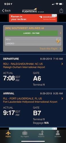 Check Flights Iphone Apps Flightstats