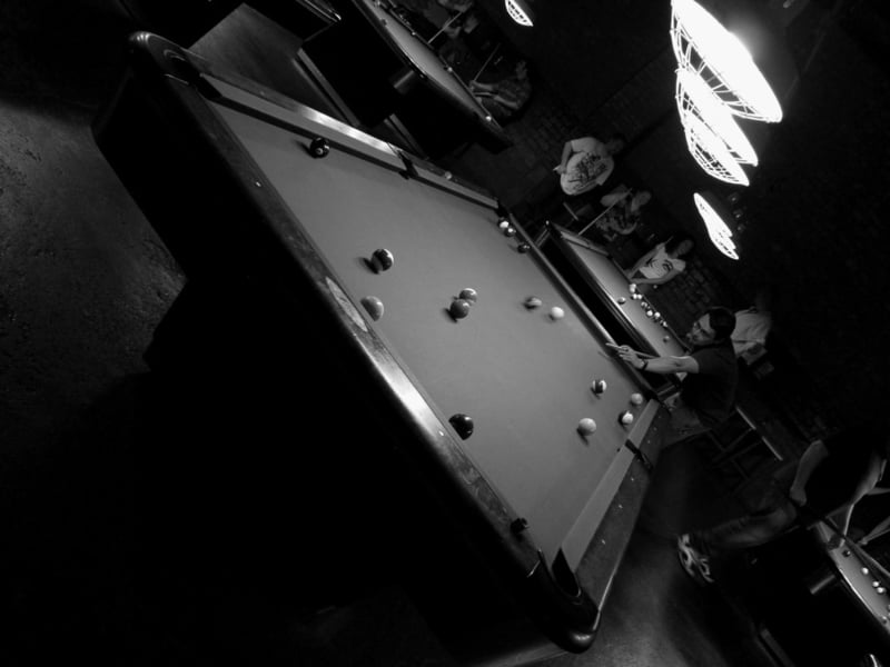 Dutch Angle Of Billiards Table
