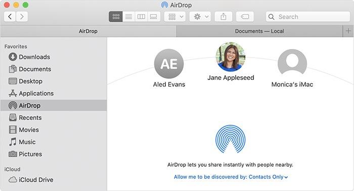 Fix Airdrop Macos Finder Airdrop Send