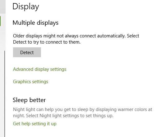 Flickering Monitor Windows Advanced Display Settings