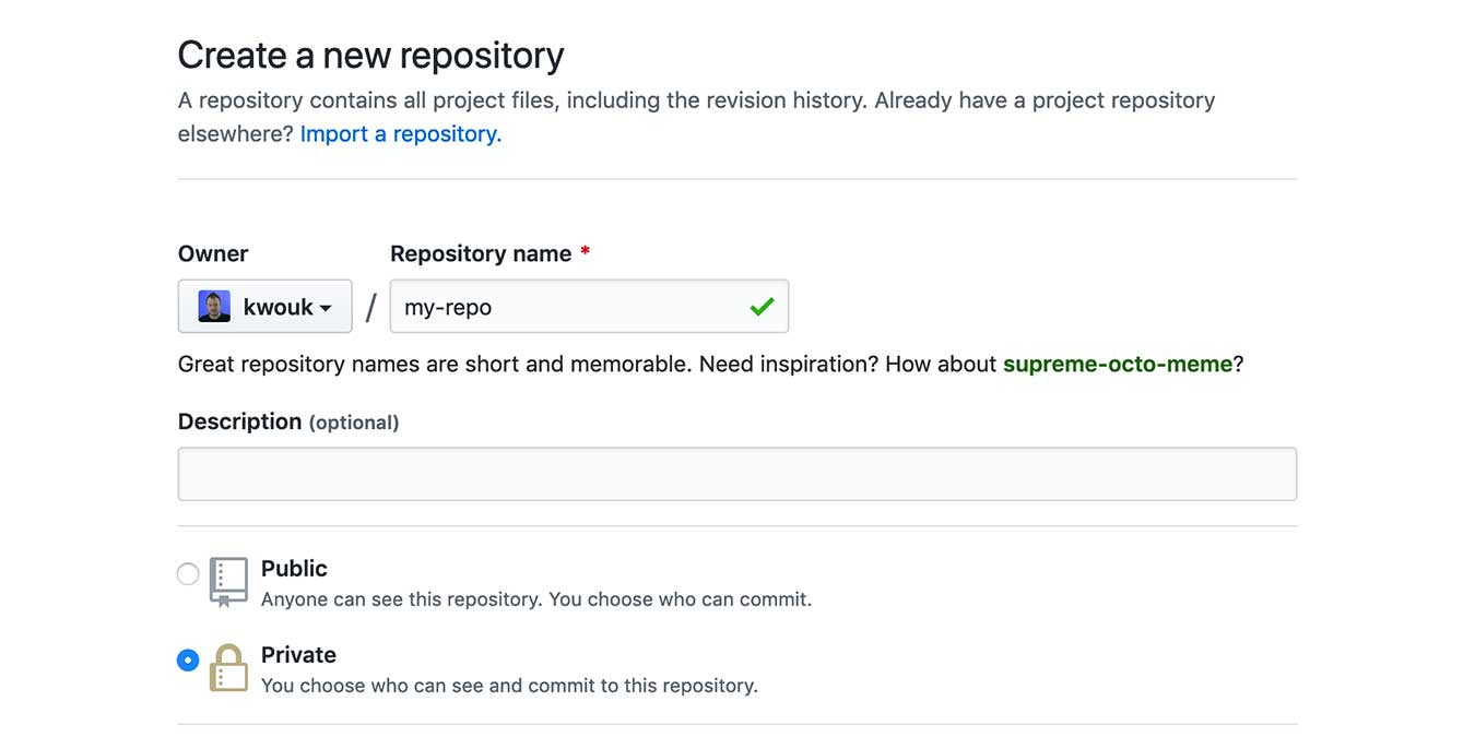 Get Started Github Projects New Repo