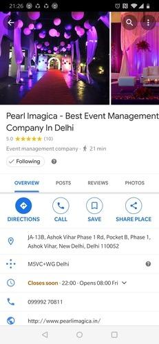 Google Maps Follow Event Option