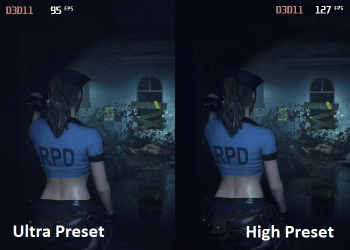 Graphics Settings Ultra Vs High