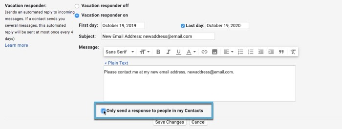 How To Leave Gmail Reclaim Privacy Set Autoresponder
