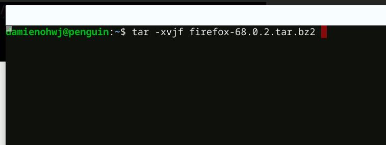 Install Firefox Chromebook Extract Firefox