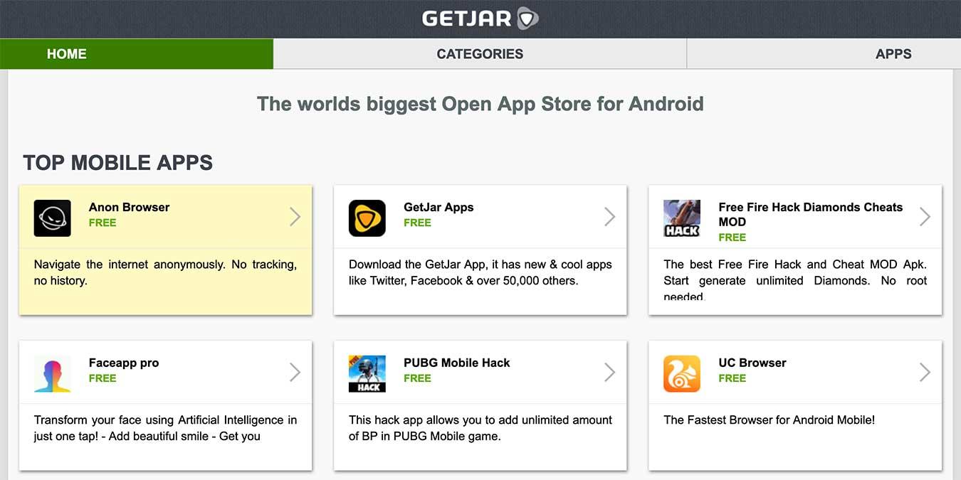 Play Store Alternatives Android Tv Getjar
