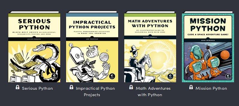 Python Programming Bundle 15 Or More