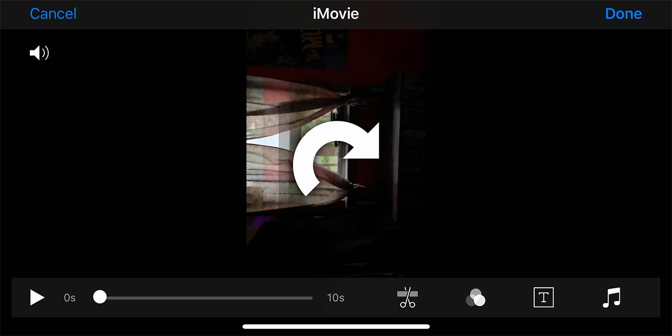 Rotate Video On Iphone Imovie