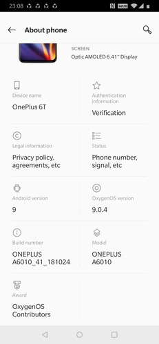 Standby Apps About Phone List Of Details