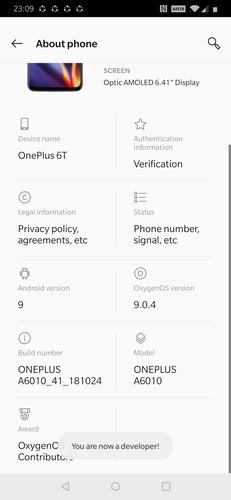 Standby Apps Developer Mode
