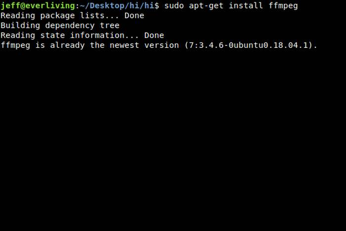 How to Reduce Video File Sizes Using FFMPEG from Linux