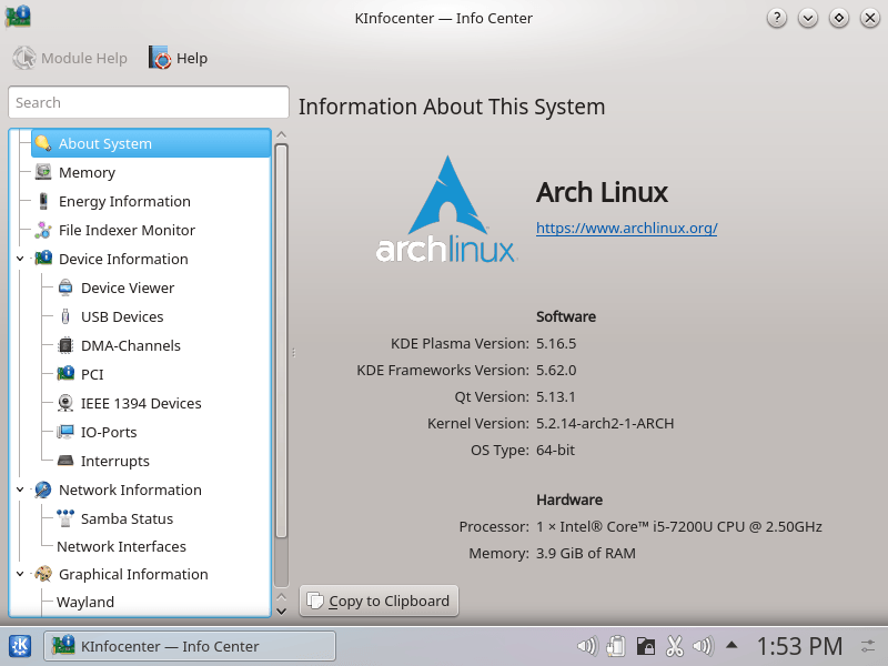 Arch Linux User Friendliness