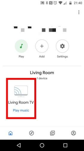 Chromecast Wifi Device