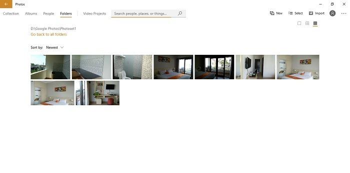 Google Photos Added Microsoft Photos 10