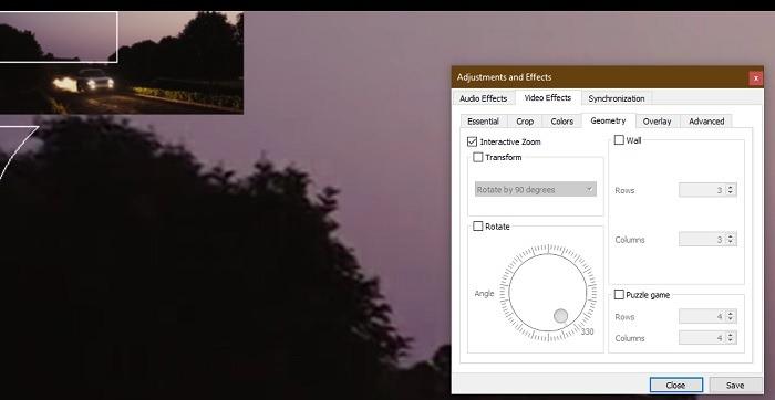 Interactive Zoom Video Vlc