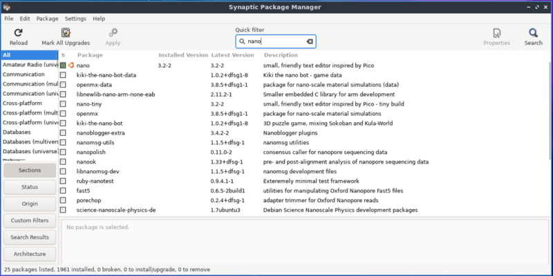 Linux Packages Featured