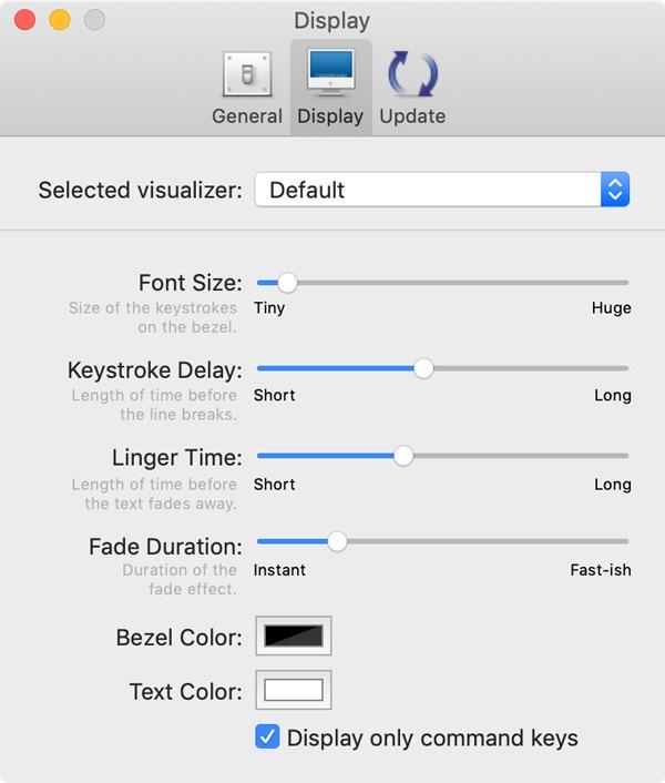 On Screen Keyboard Presses Mac Interface