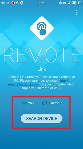 Remote Link Search Device