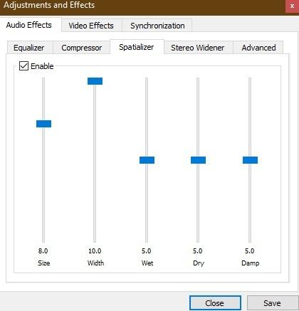 Spatializer Vlc Media Layer